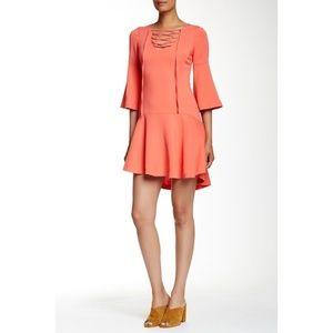 Rachel Zoe Marnie Drop Waist Dress, Sorbet SP16D48